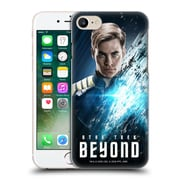 Official Star Trek Characters Beyond Xiii Captain Kirk Hard Back Case For Apple Iphone 7