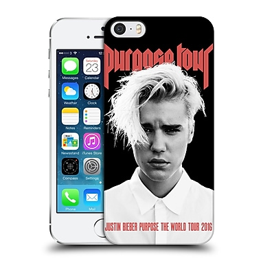 Official Justin Bieber Tour Merchandise Purpose Poster Hard Back Case For Apple Iphone 5 / 5S / Se