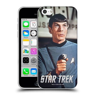 Official Star Trek Spock Phaser Soft Gel Case For Apple Iphone 5C
