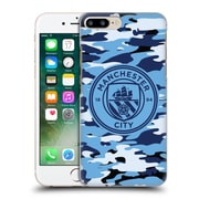 Official Manchester City Man City Fc Badge Camou Blue Moon Mono Hard Back Case For Apple Iphone 7 Plus