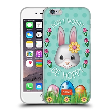 Official Emoji Easter Be Hoppy Soft Gel Case For Apple Iphone 6 / 6S