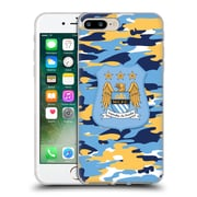 Official Manchester City Man City Fc Camou Club Full Colour Soft Gel Case For Apple Iphone 7 Plus