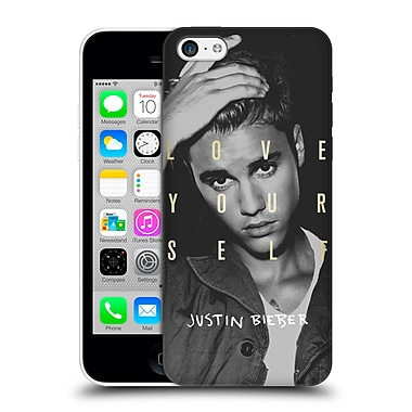 Official Justin Bieber Purpose B&W Love Yourself Hard Back Case For Apple Iphone 5C