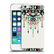 Official Micklyn Le Feuvre Modern Deco Pink And Turquoise Soft Gel Case For Apple Iphone 5 / 5S / Se