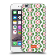 Official Emoji Floral Patterns Panda And Clover Soft Gel Case For Apple Iphone 6 / 6S