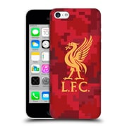 Official Liverpool Football Club Digital Camouflage Home Red Hard Back Case For Apple Iphone 5C