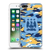 Official Manchester City Man City Fc Camou Club Colourways One Colour Soft Gel Case For Apple Iphone 7 Plus