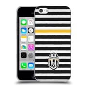 Official Juventus Football Club Lifestyle Horizontal Stripes Soft Gel Case For Apple Iphone 5C