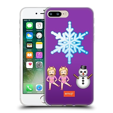 Official Emoji Movies And Series Big Snowflake Soft Gel Case For Apple Iphone 7 Plus