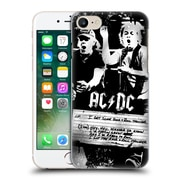 Official Ac/Dc Acdc Lyrics Rock And Roll Thunder Hard Back Case For Apple Iphone 7
