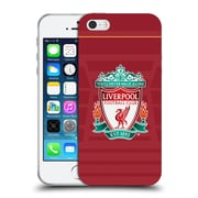 Official Liverpool Football Club Kit 2016/17 Crest Home Shirt Soft Gel Case For Apple Iphone 5 / 5S / Se