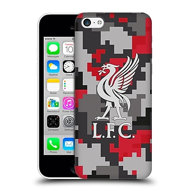 Official Liverpool Football Club Digital Camouflage Club Colours Hard Back Case For Apple Iphone 5C