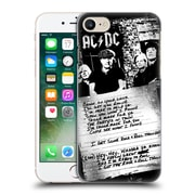 Official Ac/Dc Acdc Lyrics Got Some Rock And Roll Thunder Hard Back Case For Apple Iphone 7
