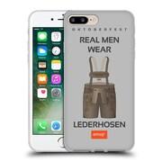 Official Emoji Oktoberfest Lederhosen Soft Gel Case For Apple Iphone 7 Plus