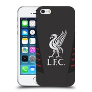 Official Liverpool Football Club Kit 2016/17 Liver Bird Away Shirt Soft Gel Case For Apple Iphone 5 / 5S / Se