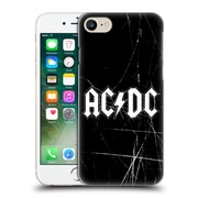 Official Ac/Dc Acdc Logo White Hard Back Case For Apple Iphone 7