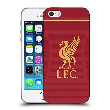 Official Liverpool Football Club Kit 2016/17 Liver Bird Home Shirt Soft Gel Case For Apple Iphone 5 / 5S / Se