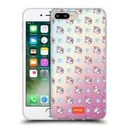 Official Emoji Patterns Unicorn Soft Gel Case For Apple Iphone 7 Plus
