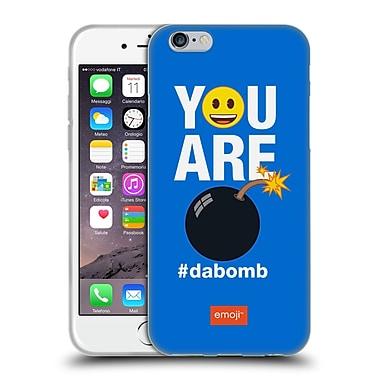 Official Emoji Flat Dabomb Soft Gel Case For Apple Iphone 6 / 6S