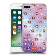 Official Emoji Patterns Sassy Soft Gel Case For Apple Iphone 7 Plus
