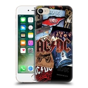 Official Ac/Dc Acdc Collage Album Art Hard Back Case For Apple Iphone 7