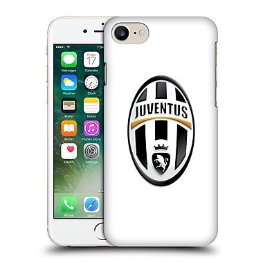Official Juventus Football Club Crest Logo White Hard Back Case For Apple Iphone 7