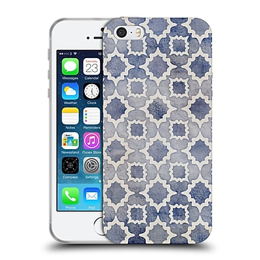 Official Micklyn Le Feuvre Moroccan Worn And Faded Soft Gel Case For Apple Iphone 5 / 5S / Se