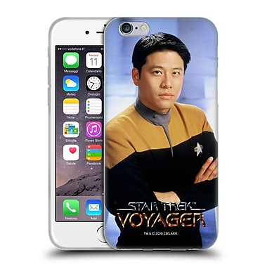 Official Star Trek Iconic Characters Voy Harry Kim Soft Gel Case For Apple Iphone 6 / 6S