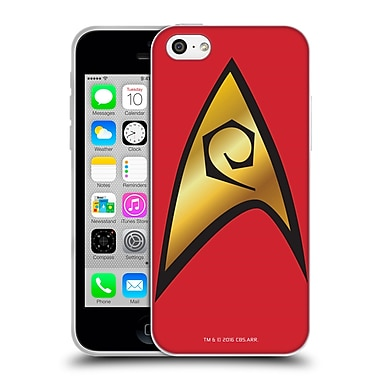 Official Star Trek Uniforms And Badges Tos Operations Solo Soft Gel Case For Apple Iphone 5C