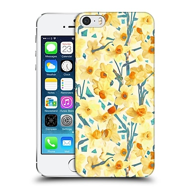 Official Micklyn Le Feuvre Florals 2 Yellow Jonquils Hard Back Case For Apple Iphone 5 / 5S / Se