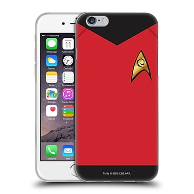 Official Star Trek Uniforms And Badges Tos Operations Soft Gel Case For Apple Iphone 6 / 6S