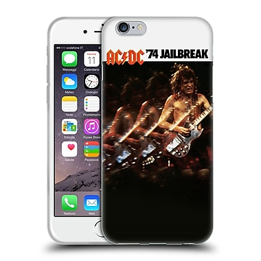 Official Ac/Dc Acdc Album Cover Jailbreak Soft Gel Case For Apple Iphone 6 / 6S