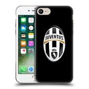 Official Juventus Football Club Crest Logo Black Soft Gel Case For Apple Iphone 7