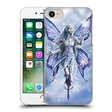 Official Anne Stokes Yule Snow Fairy Hard Back Case For Apple Iphone 7