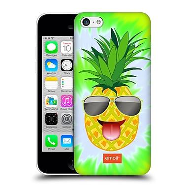 Official Emoji Happy Summer Pineapple Hard Back Case For Apple Iphone 5C
