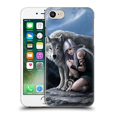 Official Anne Stokes Wolves Protector Hard Back Case For Apple Iphone 7
