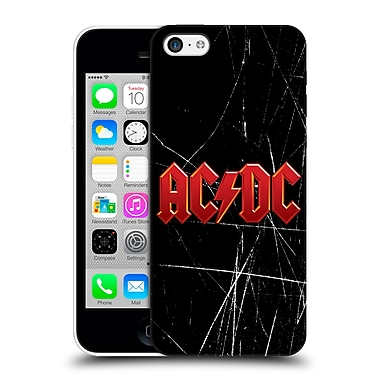 Official Ac/Dc Acdc Logo Red Hard Back Case For Apple Iphone 5C