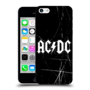 Official Ac/Dc Acdc Logo White Hard Back Case For Apple Iphone 5C