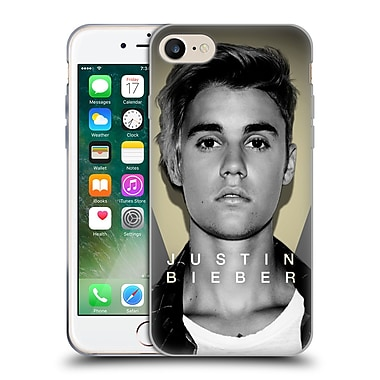 Official Justin Bieber Purpose B&W What Do You Mean Shot Soft Gel Case For Apple Iphone 7