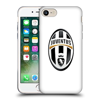 Official Juventus Football Club Crest Logo White Soft Gel Case For Apple Iphone 7