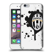 Official Juventus Football Club Lifestyle Splat Soft Gel Case For Apple Iphone 6 / 6S