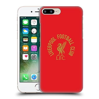 Official Liverpool Football Club Liver Bird Gold Lfc On Red Hard Back Case For Apple Iphone 7 Plus