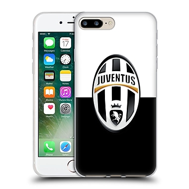Official Juventus Football Club Crest Black And White Soft Gel Case For Apple Iphone 7 Plus