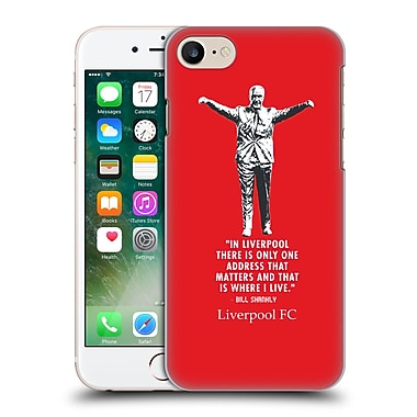 Official Liverpool Football Club Bill Shankly Liverpool Hard Back Case For Apple Iphone 7