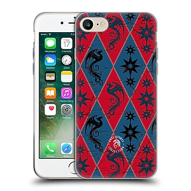 Official Anne Stokes Fire Tribal Heraldy Soft Gel Case For Apple Iphone 7