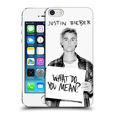 Official Justin Bieber Purpose What Do You Mean Photo Hard Back Case For Apple Iphone 5 / 5S / Se