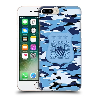 Official Manchester City Man City Fc Camou City Colourways One Colour Hard Back Case For Apple Iphone 7 Plus