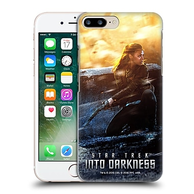 Official Star Trek Posters Into Darkness Xii Uhura Hard Back Case For Apple Iphone 7 Plus