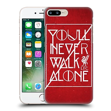 Official Liverpool Football Club Never Walk Alone Red 3 Hard Back Case For Apple Iphone 7 Plus