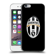 Official Juventus Football Club Crest Logo Black Soft Gel Case For Apple Iphone 6 / 6S